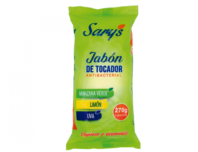 SARYS JABON ANTIBACTERIAL